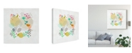 "Trademark Global Chariklia Zarris Funfetti II Canvas Art - 15"" x 20"""