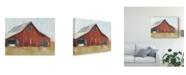 "Trademark Global Ethan Harper Rustic Red Barn I Canvas Art - 37"" x 49"""