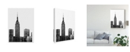 "Trademark Global Jeff Pica NYC in Pure B&W XVIII Canvas Art - 20"" x 25"""