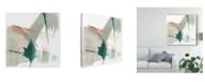 "Trademark Global Jennifer Goldberger Earthy Gestures VI Canvas Art - 27"" x 33"""
