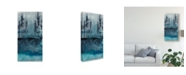"Trademark Global Chariklia Zarris Winter Woods Trees I Canvas Art - 37"" x 49"""