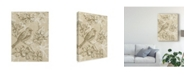 "Trademark Global Chariklia Zarris Springs Song I Canvas Art - 37"" x 49"""