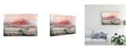 "Trademark Global Renee W. Stramel Lost Horizon II Canvas Art - 37"" x 49"""