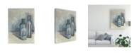 "Trademark Global Melissa Wang Still Life with Bottles II Canvas Art - 20"" x 25"""