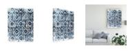 "Trademark Global June Erica Vess Indigo Extraction I Canvas Art - 20"" x 25"""