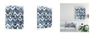 "Trademark Global June Erica Vess Indigo Extraction III Canvas Art - 37"" x 49"""