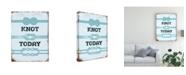 "Trademark Global Jj Brando Punny Nautical I Canvas Art - 20"" x 25"""