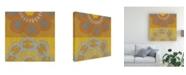 "Trademark Global Chariklia Zarris Suzani Shift III Canvas Art - 15"" x 20"""