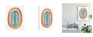 "Trademark Global June Erica Vess Ovoid II Canvas Art - 37"" x 49"""