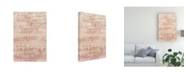 """Trademark Global June Erica Vess Garnet Weft II Canvas Art - 20"""" x 25"""""""