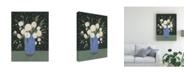 "Trademark Global Emma Scarvey Mason Jar Bouquet I Canvas Art - 15"" x 20"""