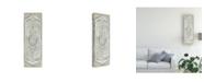 "Trademark Global June Erica Vess Vintage Persian Panel IV Canvas Art - 37"" x 49"""