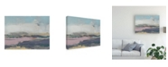 "Trademark Global Jennifer Goldberger Pretty Horizon II Canvas Art - 37"" x 49"""