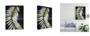 "Trademark Global John Butler Palm Deco I Canvas Art - 15"" x 20"""