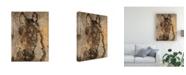 "Trademark Global Irena Orlov Champagne Horse II Canvas Art - 20"" x 25"""