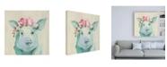 "Trademark Global Julia Purinton Festival Girl IV Canvas Art - 15.5"" x 21"""