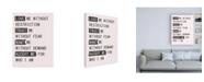 """Trademark Global Design Fabrikken Love Me 1 Fabrikken Canvas Art - 19.5"""" x 26"""""""