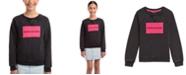 Calvin Klein Big Girls Logo Sweatshirt