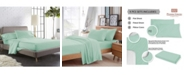 Pizuna 400 Thread Count Bed Sheets Set California King