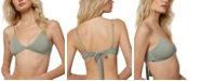 O'Neill Juniors' Salt Water Solids Bikini Top