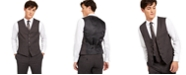 INC International Concepts INC Men's Slim-Fit Crosshatch Suit Vest, Created for Macy's