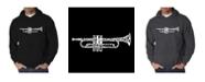 LA Pop Art Men's Word Art Hoodie - Trumpet
