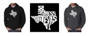 LA Pop Art Men's Word Art Hoodie - Don't Mess With Texas