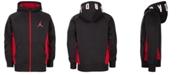 Jordan Big Boys Colorblocked Mid Weight Hoodie, Created For Macy's