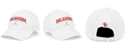 Jordan Oklahoma Sooners Heritage 86 Wordmark Swoosh Strapback Cap