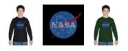 LA Pop Art Boy's Word Art Long Sleeve T-Shirt - NASA's Most Notable Missions
