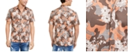 INC International Concepts INC Men's Camo Floral Shirt, Created For Macy's