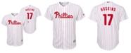 Majestic Big Boys Rhys Hoskins Philadelphia Phillies Player Replica Cool Base Jersey