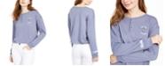 Disney Juniors' Stitch Henley T-Shirt