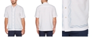 Cubavera Men's Swirl Pattern Short Sleeve Shirt