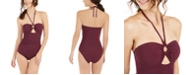 kate spade new york Keyhole O-Ring One-Piece Swimsuit