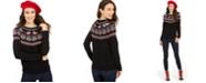 Charter Club Metallic Fair Isle Family Sweater, Created for Macy's
