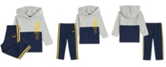 adidas Baby Boys Colorblocked Hoodie & Pants Set