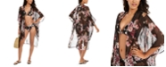 RACHEL Rachel Roy Cherry Blossom Floral-Print Kimono Cover-Up