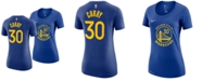 Nike Women's Stephen Curry Golden State Warriors Name and Number Player T-Shirt