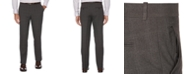 Perry Ellis Portfolio Men's Modern-Fit Performance Stretch Heathered Dress Pants