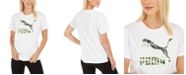 Puma Classics Cotton Printed-Logo T-Shirt