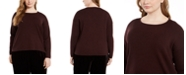 Eileen Fisher Plus Size Merino Wool Sweater