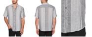 Cubavera Men's Regular-Fit Yarn-Dyed Stripe Shirt
