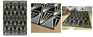 Kaleen Origami ORG01-02 Black 8' x 10' Area Rug