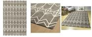 Kaleen Origami ORG05-75 Gray 8' x 10' Area Rug