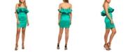 Bardot Lulu Ruffled Mini Dress