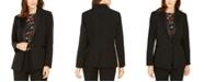 Nine West One-Button Tuxedo Jacket