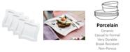 Villeroy & Boch New Wave Square Set/4 Salad Plate