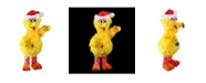 "Northlight 18"" Pre-Lit Sesame Street Big Bird in a Santa Hat 3-D Christmas Outdoor Decoration"