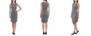 Tommy Hilfiger Sleeveless Metallic Knit Dress